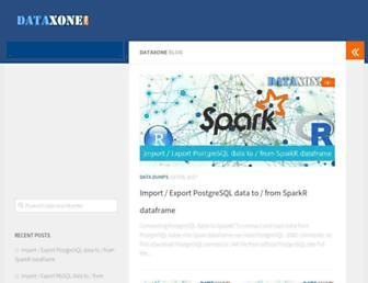 dataxone.com screenshot