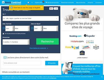 hotelscombined.fr screenshot