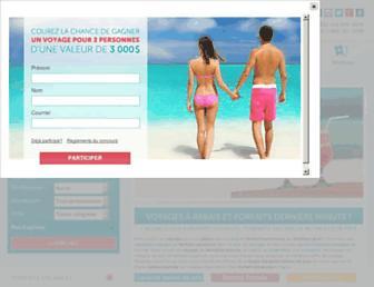 voyagessuperprix.com screenshot