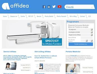 affidea.ro screenshot