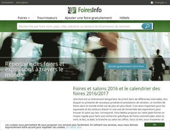 foiresinfo.fr screenshot