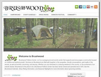 brushwood.com screenshot