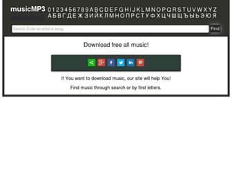 music-downloadmp3.ru screenshot