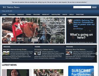 Thumbshot of Westcoastnativenews.com