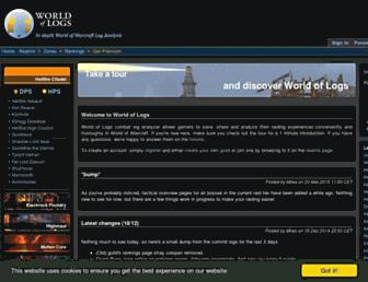 Thumbshot of Worldoflogs.com