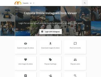 copysta.com screenshot