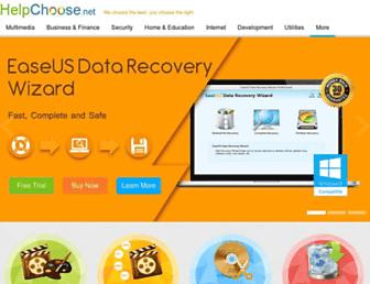 helpchoose.net screenshot