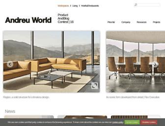 andreuworld.com screenshot
