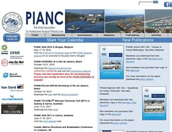 pianc.org screenshot