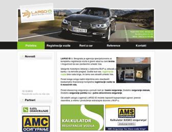 registrujvozilo.rs screenshot