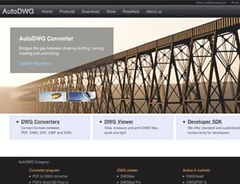 autodwg.com screenshot