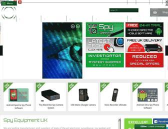 spyequipmentuk.co.uk screenshot