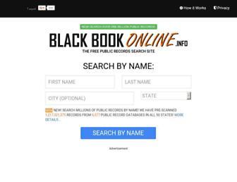 Thumbshot of Blackbookonline.info