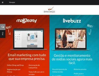 dinamize.com.br screenshot