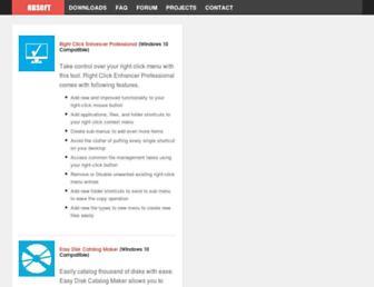 rbsoft.org screenshot