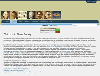 Thumbshot of Pianosociety.com