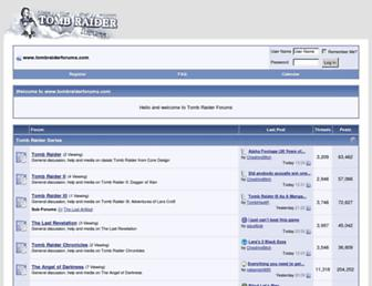 Thumbshot of Tombraiderforums.com