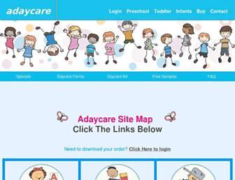 adaycare.com screenshot