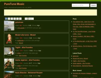 puretune.net screenshot