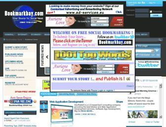 Thumbshot of Bookmarkbay.com