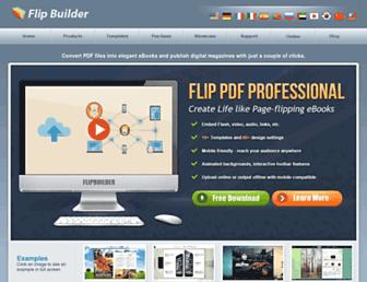 flipbuilder.com screenshot