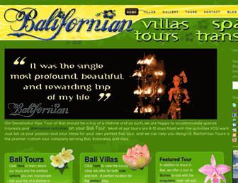 balifornian.com screenshot