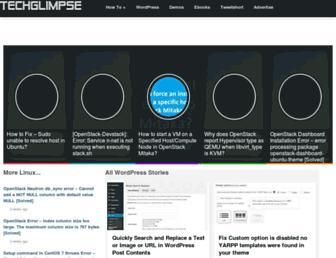 techglimpse.com screenshot