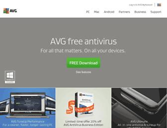 avg.com screenshot