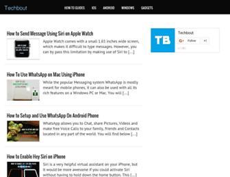 techbout.com screenshot
