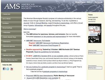 ams-net.org screenshot