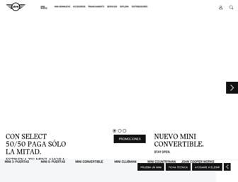 mini.com.mx screenshot