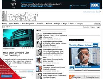 Thumbshot of Institutionalinvestor.com