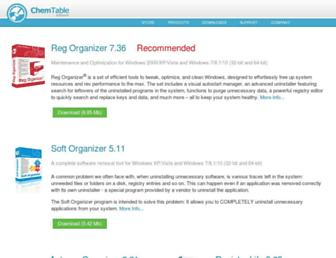 chemtable.com screenshot