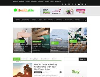 Thumbshot of Healthable.org
