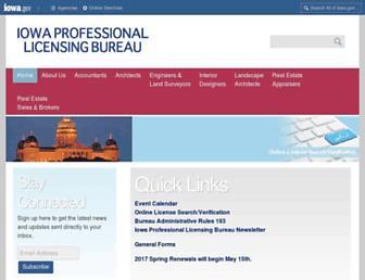 plb.iowa.gov screenshot