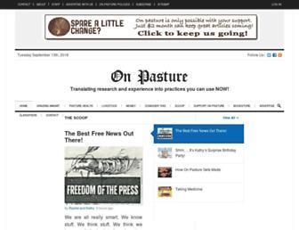 onpasture.com screenshot
