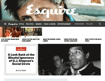 esquire.com screenshot
