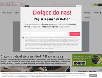 Main page screenshot of jestem.pl