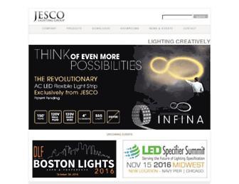 jescolighting.com screenshot