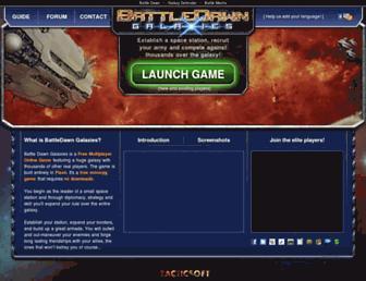 Thumbshot of Battlegalaxy.com