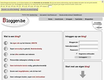 bloggen.be screenshot