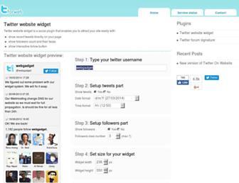 twitterforweb.com screenshot