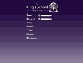 portal.thekings.devon.sch.uk screenshot