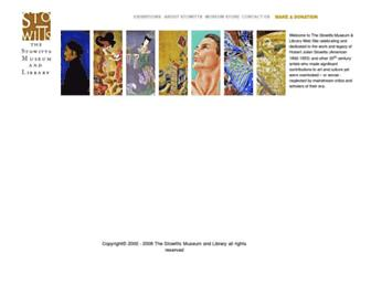Main page screenshot of stowitts.org