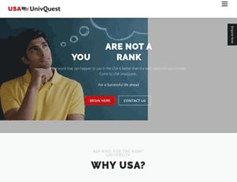 usaunivquest.com screenshot