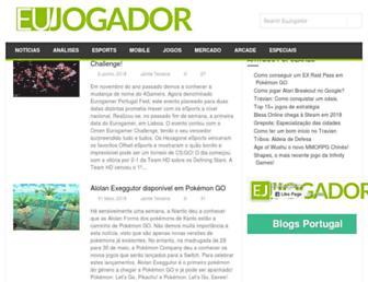 eujogador.pt screenshot