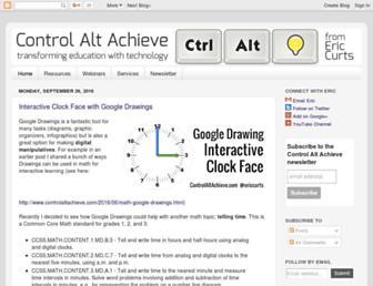 controlaltachieve.com screenshot