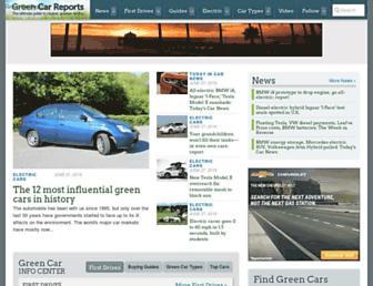Thumbshot of Greencarreports.com