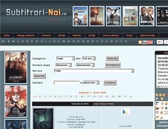 Thumbshot of Subtitrari-noi.ro