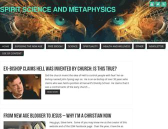 Thumbshot of Spiritscienceandmetaphysics.com